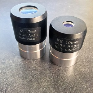 Included Wide Angle 17mm & 10mm eyepieces