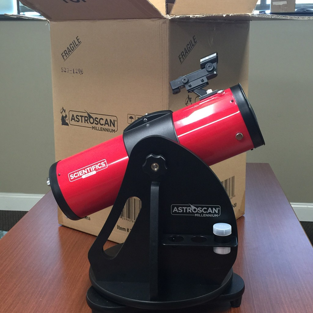 The Astroscan Millennium - Unboxed and Ready To Go