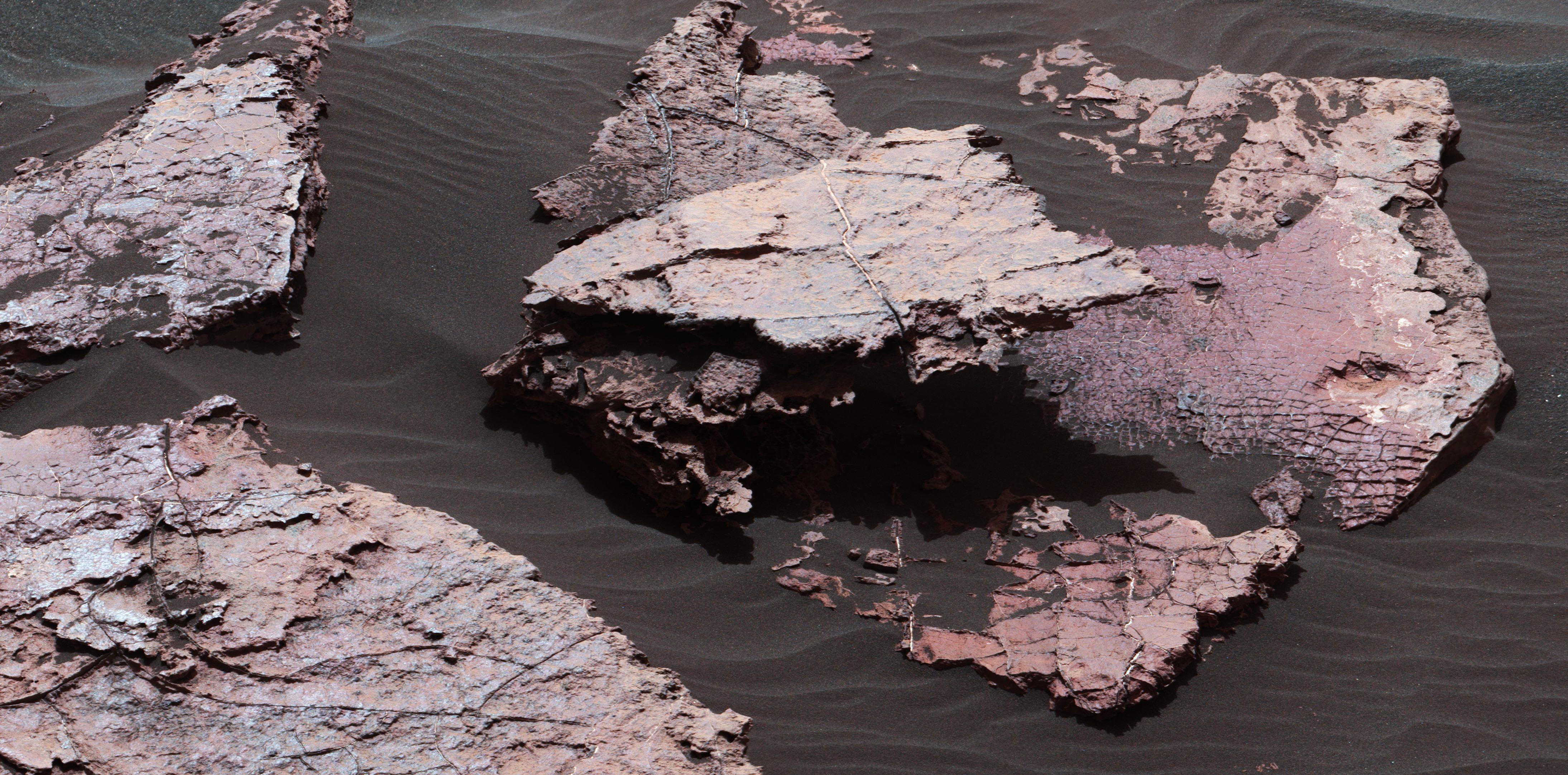 more more more mars mud
